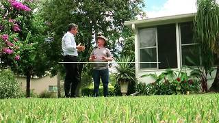 Grass guru gives free lawn lessons | Digital Short - Video