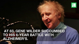 Gene Wilder's Widow Reveals Gene's Final 3 Words to Her Just Before He Died - Video