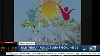 Tele-therapy for kids with special needs