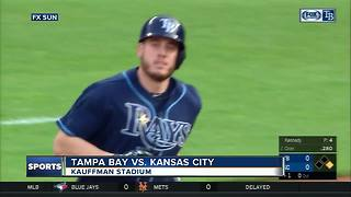 Jonny Venters gets first win since 2012 as Tampa Bay Rays beat Kansas City Royals - Video