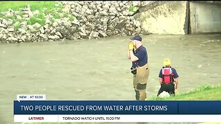 TFD's successful water rescue