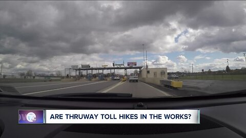 Are Thruway tolls going up?