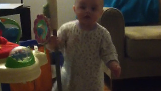 Baby Girl Dancing Like A Real Pole Dancer