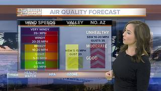 FORECAST: Temperatures on rise in Valley - Video