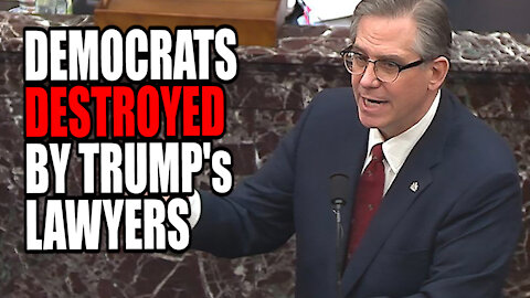 Democrats ROASTED by Trump's Lawyers at Impeachment Trial!