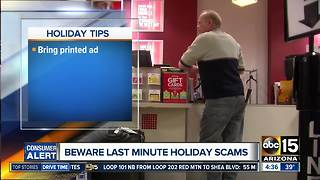 BBB and AG's Office warn of holiday scams - Video
