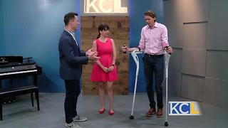 Redesigned crutch transforms people's lives - Video