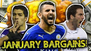 10 Greatest January Signings | Luis Suarez, Higuain & Thiago Silva! - Video