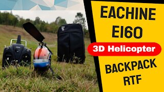 Review Eachine E160 3D RC Helicopter RTF with Backpack