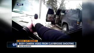 Body camera footage shows aftermath of law enforcement shooting Jermaine Claybrooks - Video