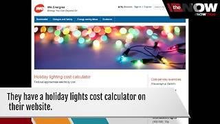 How much are your Christmas lights costing you? - Video