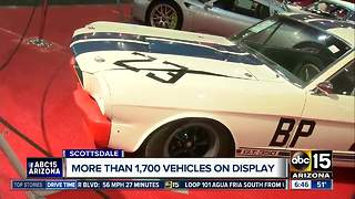 More than 1,700 vehicles on display at Barrett Jackson - Video
