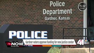 Gardner voters approve funding for new justice centers - Video