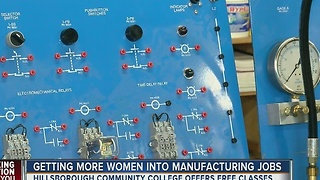 HCC offering free training for manufacturing industry - Video