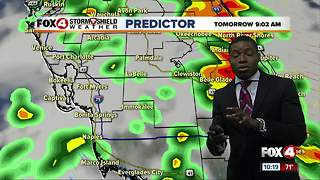 More cloudy and wet weather expected Sunday - Video