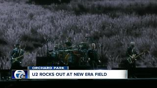 U2 rocks New Era Field - Video