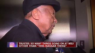 MSU Trustee's comments infuriate Nassar survivors - Video