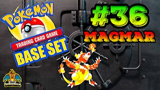 Pokemon Base Set #36 Magmar | Card Vault
