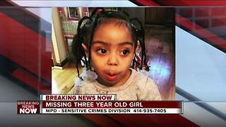 Amber Alert issued for missing Milwaukee 3-year-old