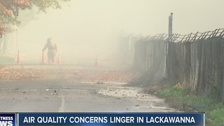 Air quality concerns linger in Lackawanna - Video