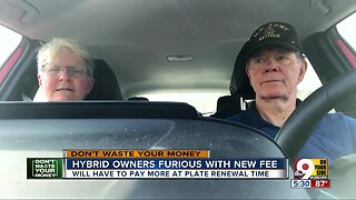 Hybrid owners furious with new fee