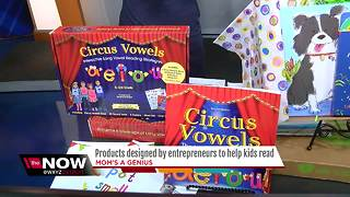 Products designed by entrepreneurs to help kids read - Video