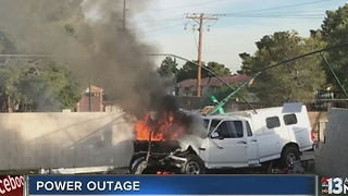 UPDATE: Power restored after Wednesday truck crash - Video