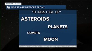 Trip Up Trent: Where do meteors come from?