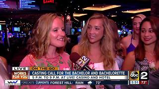 Bachelor Casting Call at Live! Casino and Hotel - Video