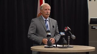 FULL NEWS CONFERENCE: St. Lucie County issues 'safer in place' order