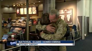 National Guard homecoming - Video