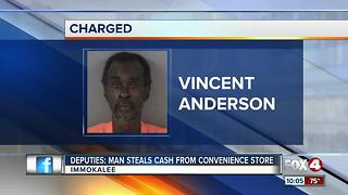 Man Arrested for Stealing Envelope with Money