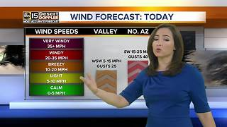 High of 108 degrees in Phoenix - Video