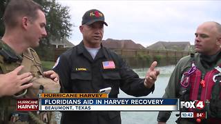 Florida units join Harvey recovery - Video
