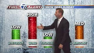 7 First Alert Forecast 11/17/2017 - Video