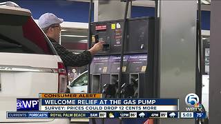 Gas prices dropping after Hurricane Harvey, Irma
