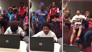 Girl Receives College Acceptance News And Priceless Reaction