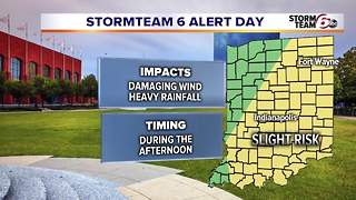 ALERT: Severe Storms Possible - Video