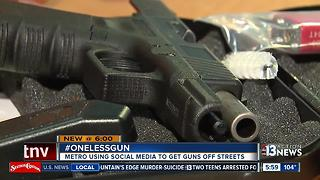 Metro starts #OneLessGun campaign - Video