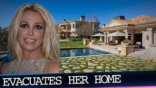 Britney Spears Evacuates Thousand Oaks Home Due to Wildfires