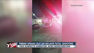 Friend of Mojave shooting victims speaks out - Video