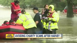 How to avoid Hurricane Harvey charity scams and make sure your money gets to victims who need help - Video