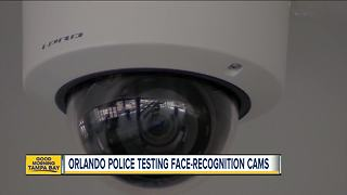 Police using cameras to test facial recognition - Video