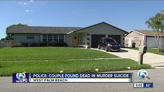 Police: Husband and wife die in apparent murder/suicide