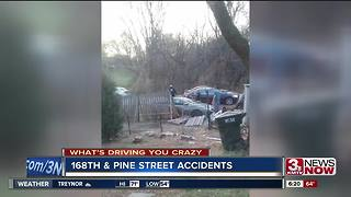 What's Driving You Crazy: 168th and Pine Street accidents - Video