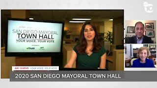 San Diego Mayoral candidates Barbara Bry, Todd Gloria debate issues ahead of November election