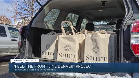Feed the Front Line Denver feeds hospital workers