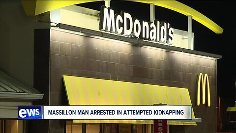 Man arrested after attempting to abduct teen from Massillon McDonald's