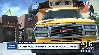 Why did Goodyear charter school suddenly shut down? - Video