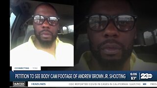 Petition to see body cam footage of Andrew Brown Jr. shooting
